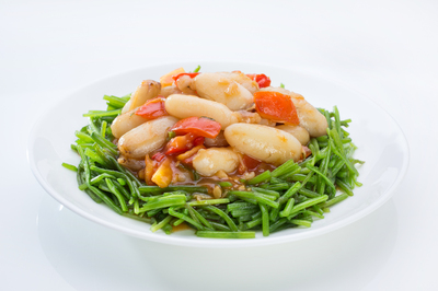 Stir-Fried Crablegs with Tomato