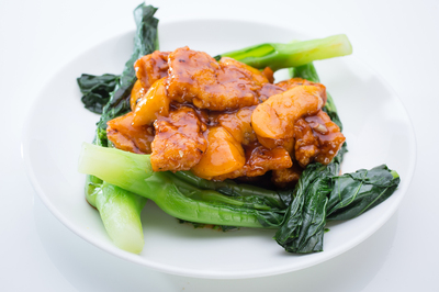 Stir-Fried Fish Fillet with Mango